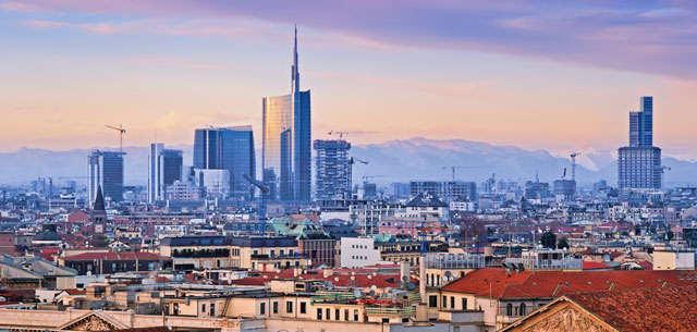 Picture of Milan skyline