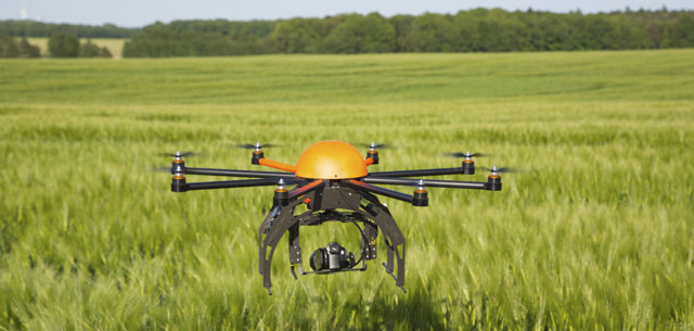 view of agricultural drone