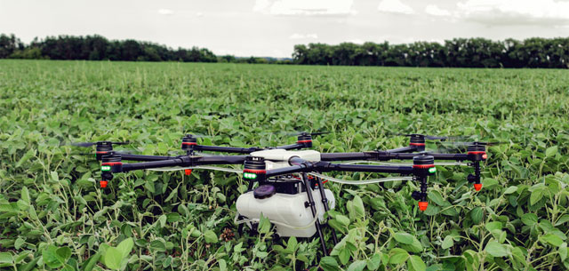 picture of agricultural drone