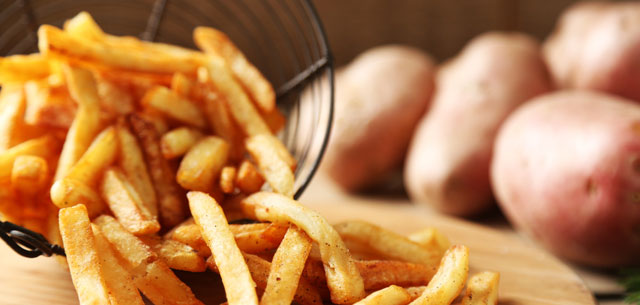 picture of french fries and potatoes