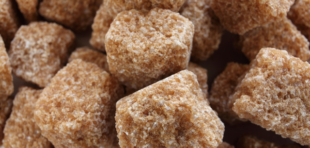 picture of brown sugar cubes
