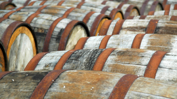 photo of Whisky barrels