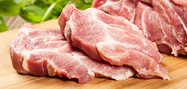 photo of pork cuts
