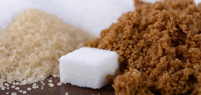 photo of various types of sugar