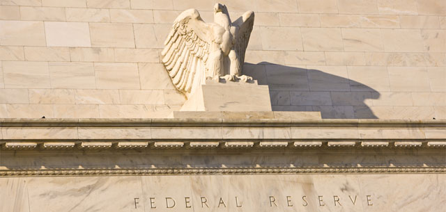 Picture of front of Federal Reserve bulding