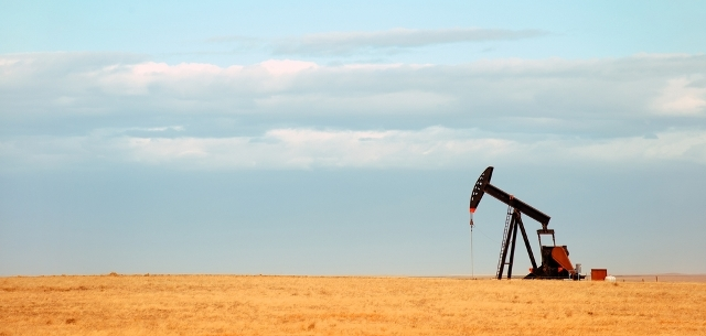 Picture of oil pump in Nebraska
